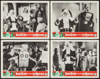 "Santa Claus Conquers the Martians (Embassy, 1964). Lobby Card Set of 4 (11"" X 14""). Fantasy. ... (Total: 4 Ite..."