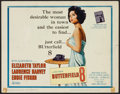 """Movie Posters:Drama, Butterfield 8 (MGM, 1960). Title Lobby Card (11"""" X 14""""). Drama....."""