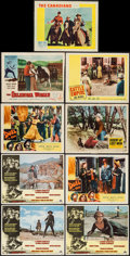 "Movie Posters:Western, Once Upon a Time in the West & Others Lot (Paramount, 1969).Lobby Cards (9) (11"" X 14""). Western.. ... (Total: 9 Items)"