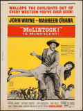"""Movie Posters:Western, McLintock! (United Artists, 1963). Poster (30"""" X 40""""). Western.. ..."""