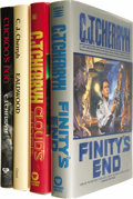 Books:First Editions, C. J. Cherryh: Signed First Editions.... (Total: 4 Items)