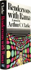 Books:Fiction, Arthur C. Clarke: Rendezvous With Rama....