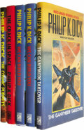Books:Fiction, Philip K. Dick: Five Book Lot.... (Total: 5 Items)