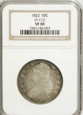 Bust Half Dollars: , 1822 50C VF30 NGC. O-112. NGC Census: (5/430). PCGS Population(10/446). Mintage: 1,559,573. Numismedia Wsl. Price for NGC/...