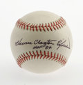 Autographs:Baseballs, Harmon Clayton Killebrew Single Signed Baseball. Rare full namesweet spot signature from HOF great Harmon Clayton Killebre...