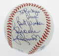 Autographs:Baseballs, Brooks Robinson Single Signed Baseball From the Ricky and BruceCollection. Offered here is a stunning example of the elega...