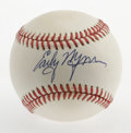 Autographs:Baseballs, Early Wynn Single Signed Baseball. Flawless signature courtesy ofthe HOF hurler Early Wynn resides on the sweet spot of th...