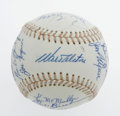 Autographs:Baseballs, Los Angeles Dodgers Adult Fantasy Camp Baseball Signed by 19.Twice-annual opportunity for adult fans of the Los Angeles Do...