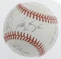 Autographs:Baseballs, 1993 Colorado Rockies Team-Signed Baseball. ONL (White) baseballcontains signatures from twenty members of the inaugural C...