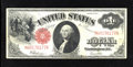 Fr. 39 $1 1917 Legal Tender Very Fine. This Ace is from the second of two regular blocks for this Friedberg number