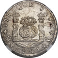 Mexico, Mexico: Philip V 8 Reales 1745 Mo-MF UNC Details (SurfaceHairlines) NGC,...