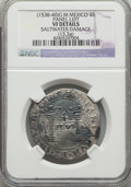 Mexico, Mexico: Carlos & Joanna 4 Reales ND (1538-40) M-P VF Details(Saltwater Damage) NGC,...