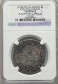 Mexico, Mexico: Carlos & Joanna Pair of Certified 4 Reales ND(1542-55),... (Total: 2 coins)
