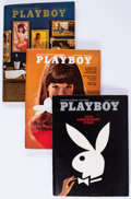 Magazines:Miscellaneous, Playboy Complete Years 1970-74 Group of 60 (HMH Publishing,1970-74) Condition: Average VF+.... (Total: 2 Box Lots)