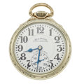 Timepieces:Pocket (post 1900), Illinois 23 Jewel Sixty Hour Bunn Special Open Face Pocket Watch. ...