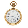Timepieces:Pocket (post 1900), Early Hamilton 21 Jewel 992 Open Face Pocket Watch. ...