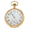 "Timepieces:Pocket (post 1900), E. Howard 23 Jewels Series ""O"" Open Face Pocket Watch. ..."