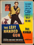 "Movie Posters:Western, The Left Handed Gun (Warner Brothers, 1958). Poster (30"" X 40"").Western.. ..."
