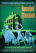 "Movie Posters:Comedy, Disneyland: The Haunted Mansion (Walt Disney, R-1995). DisneylandAttraction Poster (36"" X 54""). Miscellaneous.. ..."