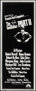 "Movie Posters:Crime, The Godfather Part II (Paramount, 1974). Insert (14"" X 36"").Crime.. ..."