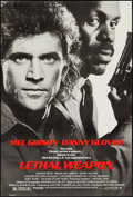 "Movie Posters:Action, Lethal Weapon (Warner Brothers, 1987). One Sheet (27"" X 40.25"") SS.Action.. ..."
