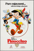 "Movie Posters:Animation, Pinocchio (Buena Vista, R-1984). One Sheet (27"" X 41""). Animation....."