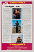 "Movie Posters:Science Fiction, The Road Warrior (Warner Brothers, 1982). One Sheet (27"" X 41"") Review Style C. Science Fiction.. ..."