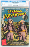Golden Age (1938-1955):Science Fiction, Strange Adventures #1 (DC, 1950) CGC FN- 5.5 Off-white pages....