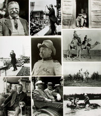 [Theodore Roosevelt]. Archive of Approximately 164 Photographs Depicting Theodore Roosevelt