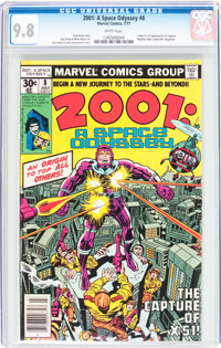 2001: A Space Odyssey #8 (Marvel, 1977) CGC NM/MT 9.8 White pages