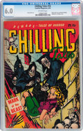 Golden Age (1938-1955):Horror, Chilling Tales #16 (Youthful Magazines, 1953) CGC FN 6.0 Off-whitepages....