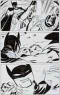 Original Comic Art:Panel Pages, Darwyn Cooke Justice League: The New Frontier Special #1Page 18 Original Art (DC, 2008)....