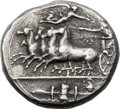 Ancients:Greek, Ancients: SICILY. Syracuse. Time of Dionysius I (406-367 BC). AR decadrachm (35mm, 42.43 gm, 5h)....