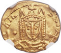 Ancients:Byzantine, Ancients: Irene, as sole Augusta (AD 797-802). AV solidus (18mm,3.81 gm, 6h). ...