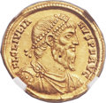 Ancients:Roman Imperial, Ancients: Julian II 'The Philosopher' (AD 360-363). AV solidus (21mm, 4.42 gm, 5h)....