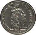 Netherlands East Indies, Netherlands East Indies: Dutch Colony. Westfriesland 3 Gulden1786-VOC XF Details (Polished) NGC,...