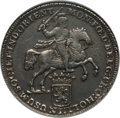 Netherlands East Indies, Netherlands East Indies: Dutch Colony. Holland Ducaton 1740 AUDetails (Obverse Graffiti Cleaned) NGC,...