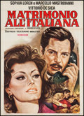 """Movie Posters:Foreign, Marriage Italian-Style (R-1970s). Italian 2 - Foglio (39.5"""" X 55""""). Foreign.. ..."""