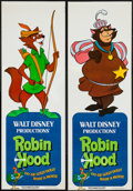 "Robin Hood (Buena Vista, 1973). Door Panel Set of 4 (20"" X 59""). Animation. ... (Total: 4 Items)"