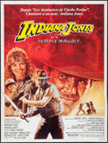 "Movie Posters:Adventure, Indiana Jones and the Temple of Doom (CIC, 1984). French Grande(47"" X 63""). Adventure.. ..."