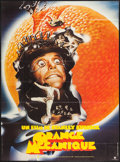 "Movie Posters:Science Fiction, A Clockwork Orange (Warner Brothers, R-1981). French Grande (46"" X62""). Science Fiction.. ..."