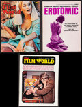 """Movie Posters:Miscellaneous, Adam Film World & Other Lot (Knight Publishing, 1972). Magazines (3) (Multiple Pages, 8"""" X 10.5"""", 8.25"""" X 11""""). Adult.. ... (Total: 3 Items)"""