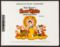 "Movie Posters:Animation, Snow White and the Seven Dwarfs (Buena Vista, R-1967). Production Scenes Stills Book (29 Pages, 8.5"" X 11""). Animation.. ..."