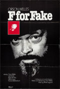 "Movie Posters:Documentary, F for Fake (Specialty Films, 1977). First U.S. Release One Sheet (28"" X 41.5"") & Press Materials (8"" X 10,"" 8.5"" X 11""). Doc... (Total: 2 Items)"