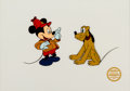 Animation Art:Limited Edition Cel, The Pointer Limited Edition Serigraph Cel (Disney, 1990)....