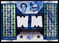 Football Cards:Singles (1970-Now), 2004 SPx Roger Staubach/Troy Aikman Winning Materials Dual JerseyAutograph #'d 14/25....