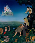 Animation Art:Poster, Sleeping Beauty Dye Transfer Print (Walt Disney, 1959)....