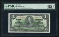 Canadian Currency: , BC-21d $1 1937. ...