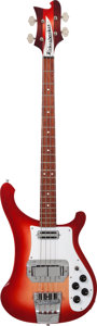 Musical Instruments:Bass Guitars, 2003 Rickenbacker 4003 Fireglo Electric Bass Guitar, Serial # 0334917....