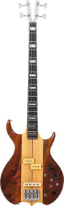Musical Instruments:Bass Guitars, 1981 Kramer DMZ 6000B Natural Electric Bass Guitar, Serial # A2032....